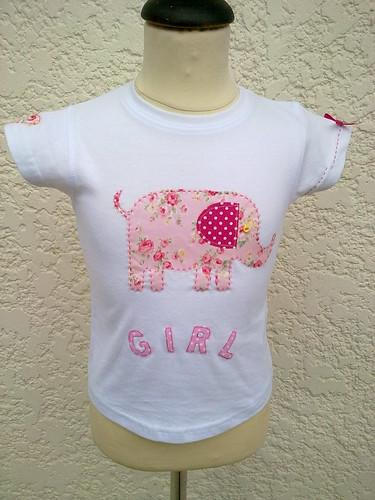 T-shirt de menina 2/3 anos by ♥Linhas Arrojadas Atelier de costura♥Sonyaxana