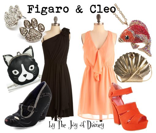 Inspired by: Figaro & Cleo (Pinocchio)