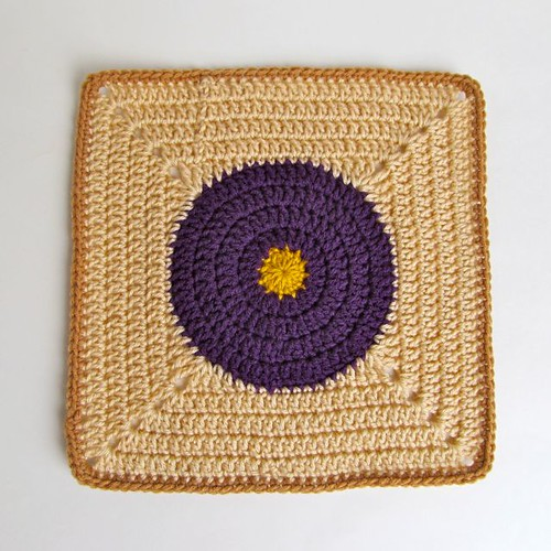 Tantra Song Inspired Crochet Block