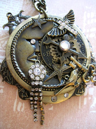 Steampunk Goddess Necklace!