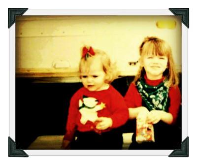 Betsie and Anna as little girls