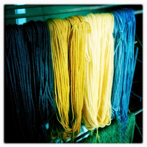 Look aid yarn