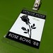 Depeche Mode Rose Ball Back Stage Pass