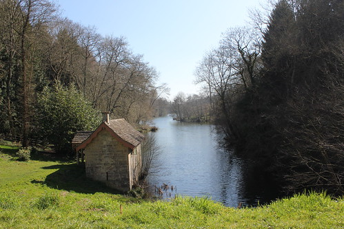 Boathouse at Woodchester Park