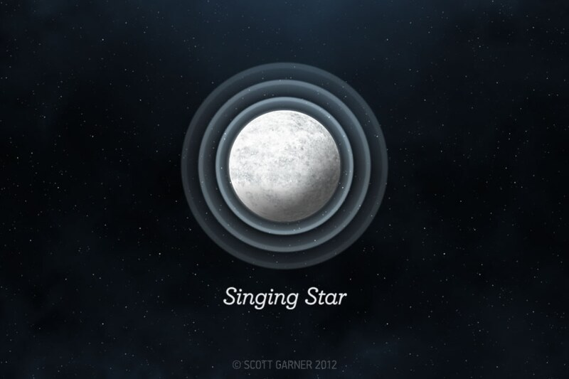 Singing Star: Title Screen