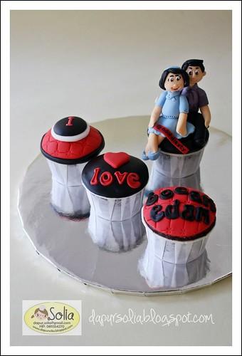 Cupcake Set Bocah Edan