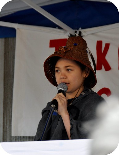 "Ta'Kaiya Blaney ""No to Enbridge"" Pipeline Rally"