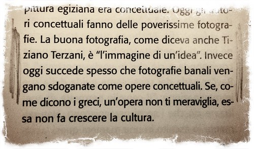 Romano Cagnoni, pensieri.