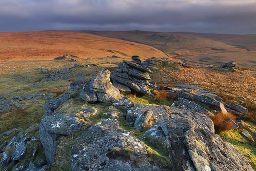 sky clouds rural sunrise landscape photography nationalpark rocks imac geology dartmoor moorland beardowntor