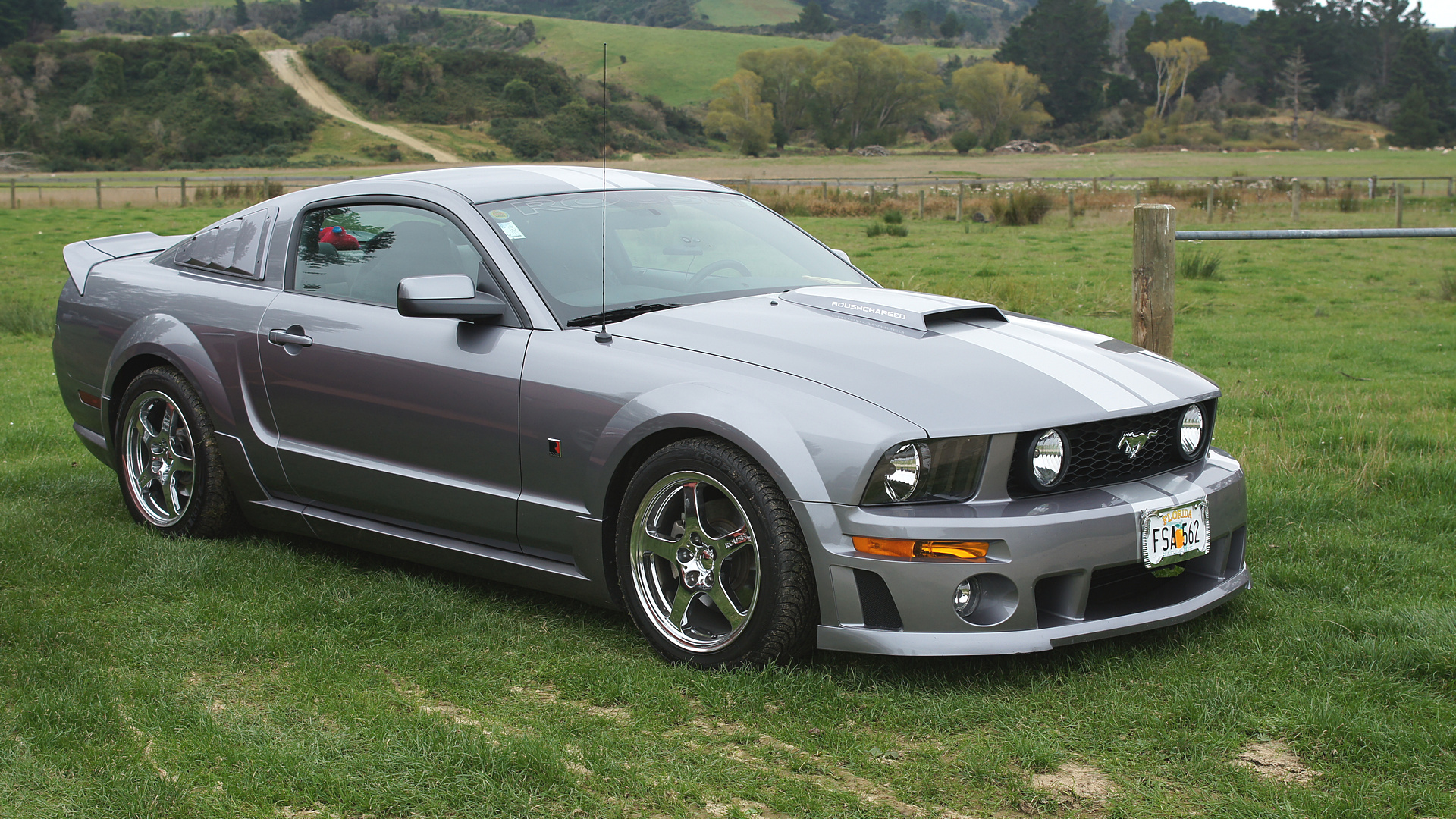 2006 ford mustang roush the annual drag racing was held flickr. Black Bedroom Furniture Sets. Home Design Ideas