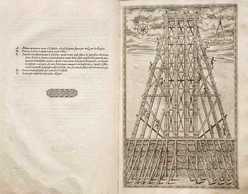 008-Della trasportatione dell'obelisco Vaticano…1590- Doménico Fontana-© Biblioteca Nacional Digital de Portugal