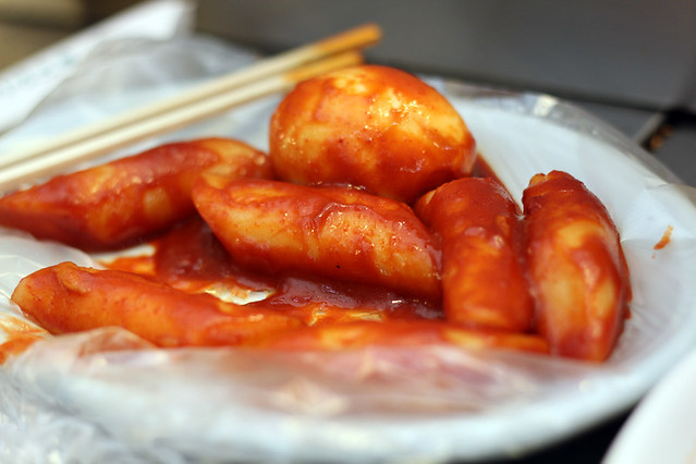 A plate of wonderful Tteokbokki (떡볶이)