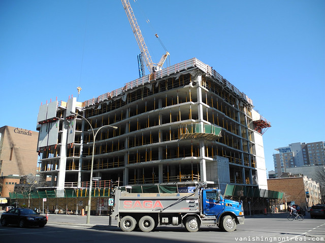 Hôtel Marriott Courtyard construction (2012) 3