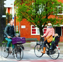 Street Scenes: Dutch families on the move