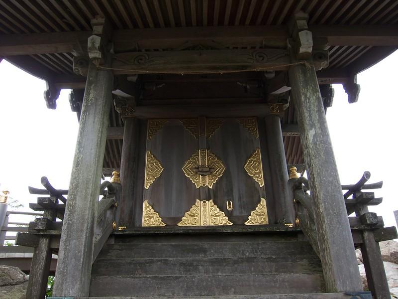 筑波山神社 女体山本殿 イザナミ