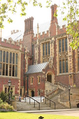 The entrance to the Great Hall at Lincoln's Inn