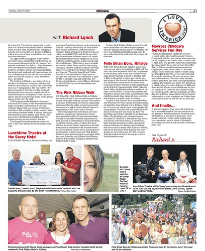 I Love Limerick Chronicle Column 19 June 2012 Page 2
