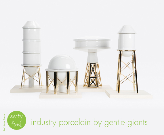 {zesty find} industry porcelain by gentle giants