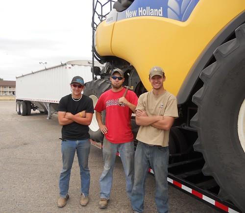 Danny, James, & Brandon pose before we move to NE