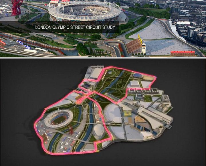 street circuit London Olympic 2012