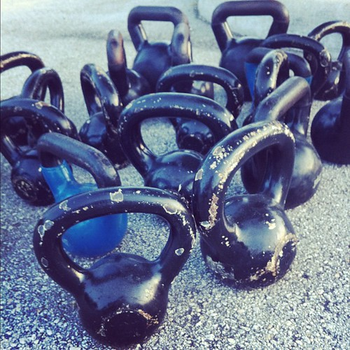 Kettlebell madness. by Summer Boone