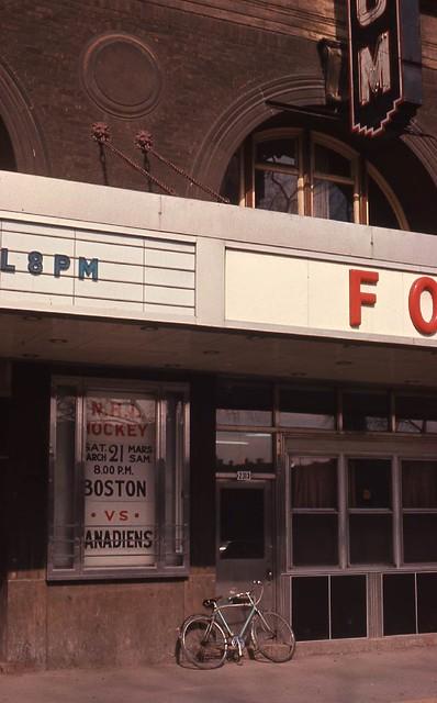 Le Forum de Montréal, 1964