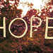 inside all of us is hope