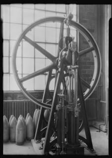 Railroad parts. Baldwin Locomotive Works. Machine, May 1937