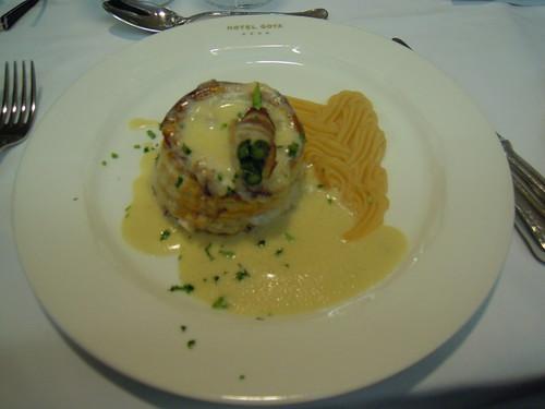Zaragoza | Hotel Goya | Vol au vent de muchas cosas