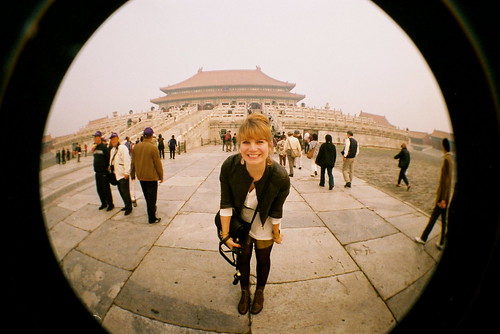 Brenna Holeman in Beijing, China