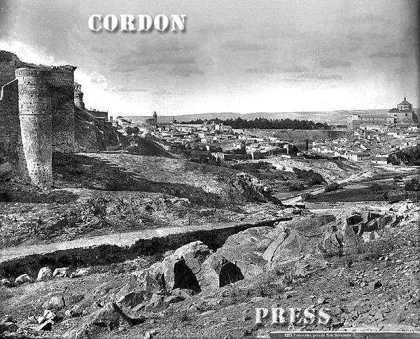 Castillo de San Servando de Toledo hacia 1875-80. © Léon et Lévy / Cordon Press - Roger-Viollet