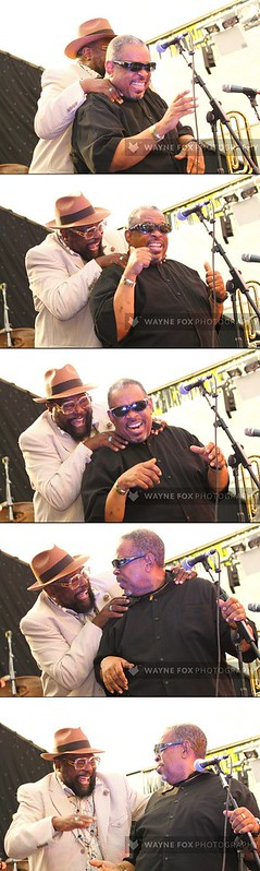 George Clinton surprises old friend, Fred Wesley from The New JB's