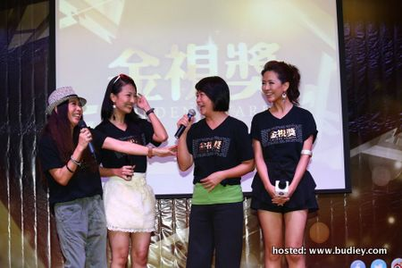 Best Actress Top 5 Nominees - (L-R) Yenn Teoh, Chris Tong, Remon Lim, Tiffany Leong
