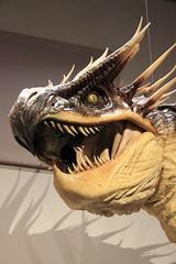 art(0.0), velociraptor(0.0), sculpture(1.0), dragon(1.0), dinosaur(1.0),