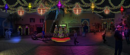 Busch Gardens Tampa Details Christmas Town Celebration