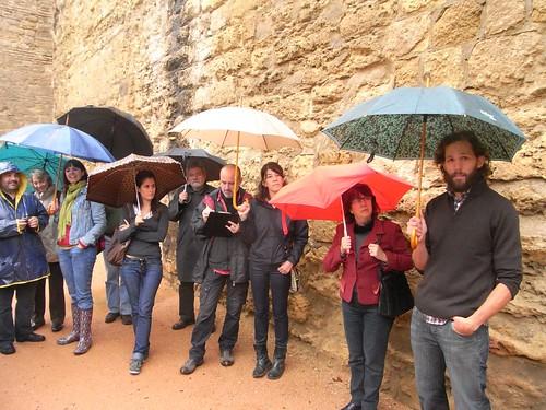 Paseos de Jane Jacobs 2012. Grupo guiado Miguel Cejas arquitecto.