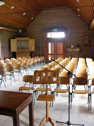 Elsendorp - Reformed Church, interior with organ
