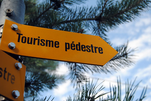 Camine, turista