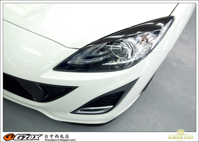 2012.07.05 Mazda3 Howard 鑽石鍍膜