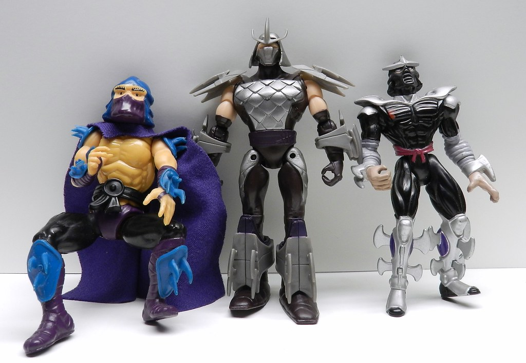 nickelodeon ninja turtles shredder figure review infinite hollywood