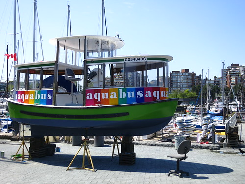 Aquabus ready for repair