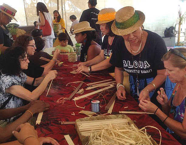 <p>Ukeke workshop at the Smithsonian Folklife Festival.</p>