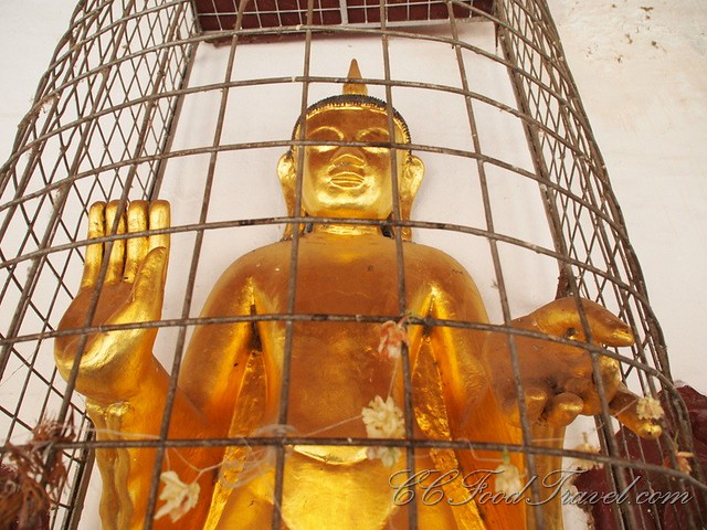 Caged Buddha