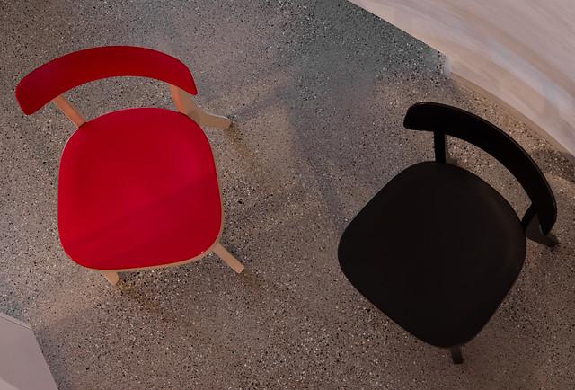 Chaises vue de haut couleur flickr photo sharing for Chaise tissu couleur