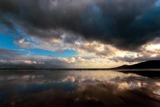 Inch Beach sunset, County Kerry, Ireland