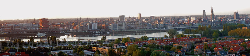 Good Morning Antwerp!!! (Sunrise Giga Panorama)