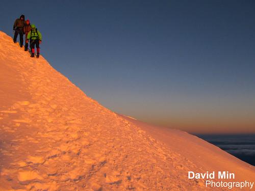 Mont Blanc, Chamonix - Golden Glow