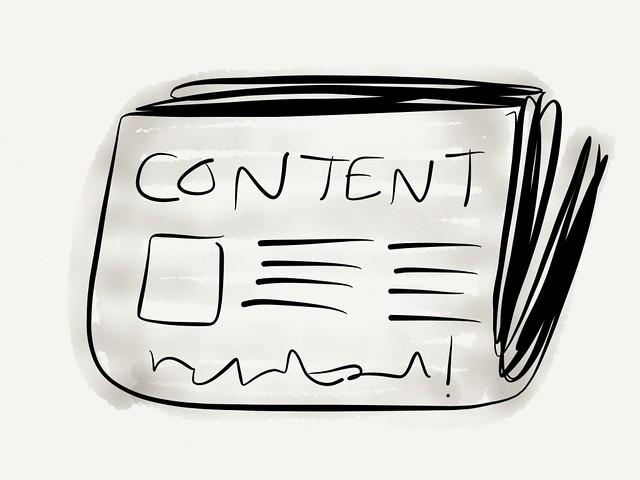 Content sketch