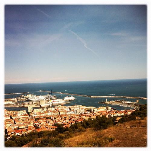 Sète! Quelle belle ville! Merci @clumsy_maria pour la Tournée!