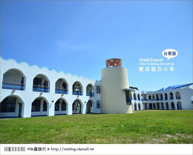 【台東地中海國小】台東豐源國小~一起探訪全台最美的小學!!18